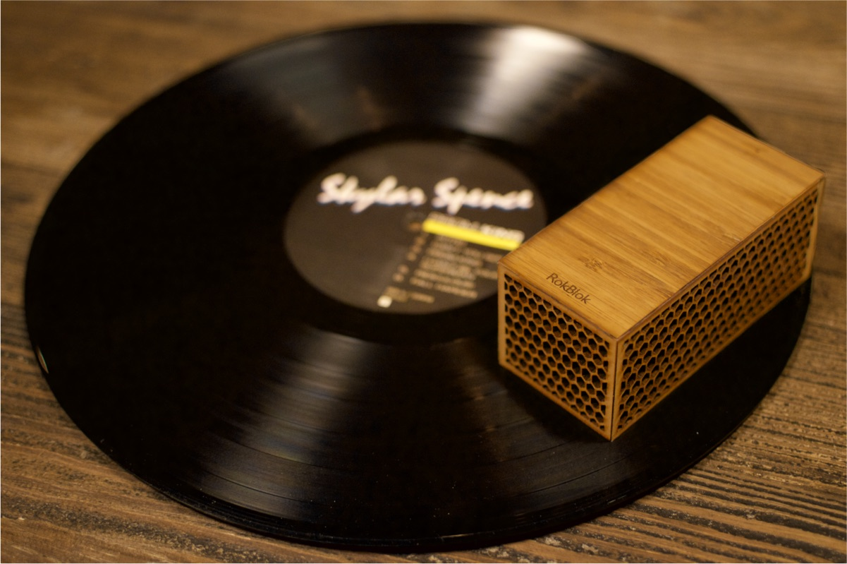 RokBlok - A Different Spin on Vinyl